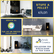 Stufe a pellet Kalon - Arredo Ceramica - Guardavalle (Catanzaro)